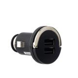 Автомобильное зарядное устройство Deppa Ultra (2.1A) D - 11204 (USB: 5V 1A & 5V 2.1A), цвет черный