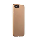Чехол-накладка пластик Soft touch Deppa Air Case D-83275 для iPhone 7 Plus (5.5) 1 мм Золотистый