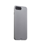 Чехол-накладка пластик Soft touch Deppa Air Case D-83273 для iPhone 8 Plus (5.5) 1 мм Серебристый