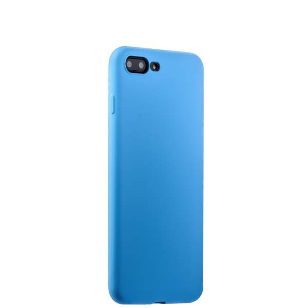 Чехол-накладка силикон Soft touch Deppa Gel Air Case D-85274 для iPhone 8 Plus (5.5) 0.7 мм Голубой