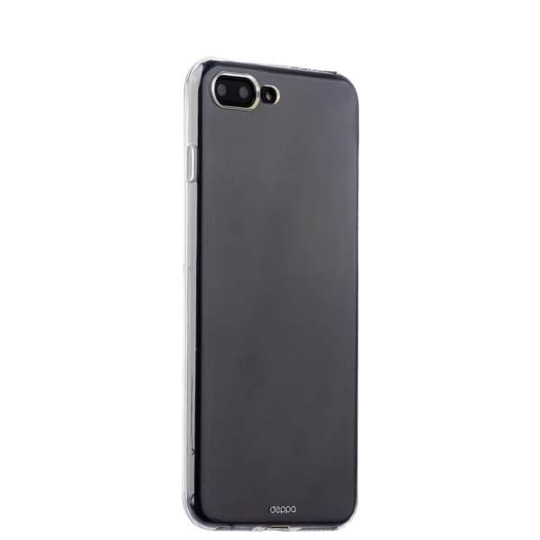 Чехол-накладка силикон Deppa Gel Case D-85252 для iPhone 8 Plus (5.5) 0.8 мм Прозрачный