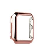 Пластиковый чехол для Apple Watch Series 1 (38 mm) COTEetCI Soft case (CS7015 - MRG), цвет розовое - золото