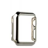 Пластиковый чехол для Apple Watch Series 1 (38 mm) COTEetCI Soft case (CS7015 - TS), цвет серебристый