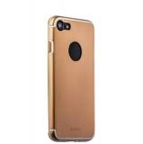 Накладка металлическая iBacks Premium Aluminium case для iPhone 8 (4.7) - Essence (ip60354) Gold Золототистая
