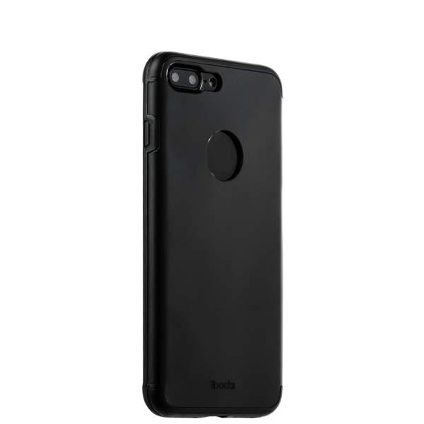Накладка металлическая iBacks Premium Aluminium case для iPhone 8 Plus (5.5) - Essence (ip60359) Black Черная