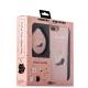 Набор iBacks Lady's 2-piece Suit - Бегущий Кот зеркало & гребень & накладка для iPhone 8 Plus (5.5) - (ip70014) Розовый