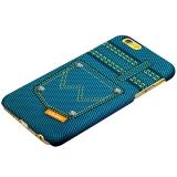 Пластиковый чехол - накладка для iPhone 6S Umku Jeans Soft - touch вид 5