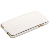 Чехол Fashion Case для iPhone 6s/ 6 (4.7) кожаный с откидным верхом белый