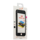 Чехол противоударный 360 Protect Case & 9H Tempered Glass для iPhone SE (2020г.) Black - Черный