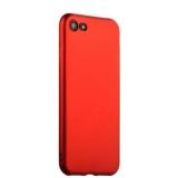 Чехол - накладка силиконовый J - case Delicate Series Matt 0.5mm для Samsung Galaxy A3 (2017) Красный