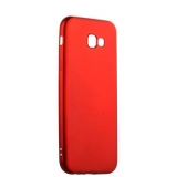 Чехол - накладка силиконовый J - case Delicate Series Matt 0.5mm для Samsung Galaxy A7 (2017) Красный