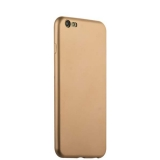 Чехол-накладка силиконовый J-case Delicate Series Matt 0.5mm для iPhone 6s Plus/ 6 Plus (5.5) Золотистый
