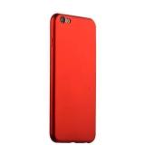 Силиконовый чехол - накладка для iPhone 6S Plus J - Case Delicate Series Matt (0.5 мм), цвет красный