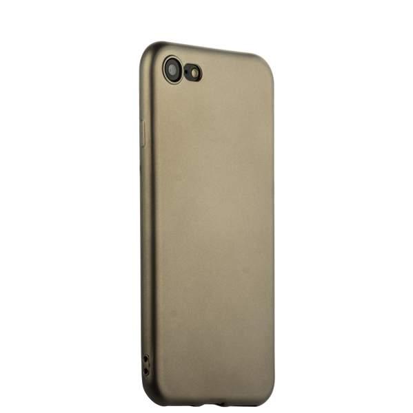 Чехол-накладка силиконовый J-case Delicate Series Matt 0.5mm для iPhone 8 (4.7) Графитовый