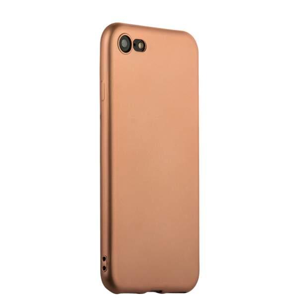 Чехол-накладка силиконовый J-case Delicate Series Matt 0.5mm для iPhone 8 (4.7) Розовое золото