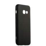 Чехол - накладка силиконовый J - case Delicate Series Matt 0.5mm для Samsung Galaxy A3 (2017) Черный
