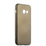 Чехол - накладка силиконовый J - case Delicate Series Matt 0.5mm для Samsung Galaxy A3 (2017) Графитовый