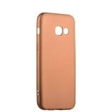 Чехол - накладка силиконовый J - case Delicate Series Matt 0.5mm для Samsung Galaxy A3 (2017) Розовое золото