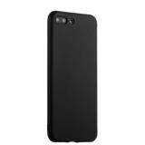 Силиконовый чехол - накладка для iPhone 8 Plus J - Case Delicate Series Matt (0.5 мм), цвет черный
