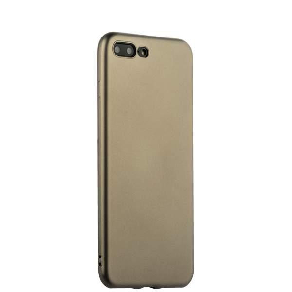 Чехол-накладка силиконовый J-case Delicate Series Matt 0.5mm для iPhone 8 Plus (5.5) Графитовый