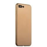 Силиконовый чехол - накладка для iPhone 7 Plus J - Case Delicate Series Matt (0.5 мм), цвет золотистый