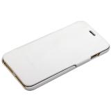 Чехол Fashion Case для iPhone 6s Plus/ 6 Plus (5.5) кожаный книжка боковая белый