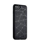 Силиконовый чехол - накладка для iPhone 7 Plus COTEetCI Star Diamond Case (CS7033 - BK), цвет черный