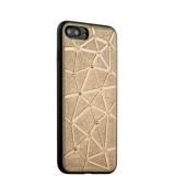 Силиконовый чехол - накладка для iPhone 7 Plus COTEetCI Star Diamond Case (CS7033 - GD), цвет золотистый