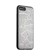 Силиконовый чехол - накладка для iPhone 7 Plus COTEetCI Star Diamond Case (CS7033 - TS), цвет серебристый