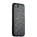 Силиконовый чехол - накладка для iPhone 7 COTEetCI Star Diamond Case (CS7032 - BK),цвет черный