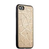 Силиконовый чехол - накладка для iPhone 7 COTEetCI Star Diamond Case (CS7032 - GD),цвет золотистый