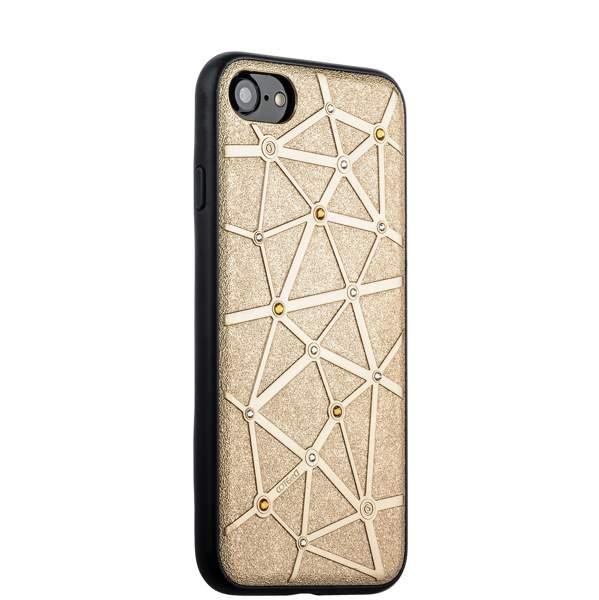 Чехол-накладка силиконовый COTEetCI Star Diamond Case для iPhone 8 (4.7) CS7032-GD Золотистый
