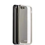 Чехол-накладка силикон Deppa Gel Plus Case D-85282 для iPhone 8 (4.7) 0.9 мм Серебристый матовый борт