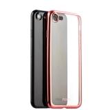 Чехол-накладка силикон Deppa Gel Plus Case D-85285 для iPhone 8 (4.7) 0.9 мм Розовое золото матовый борт