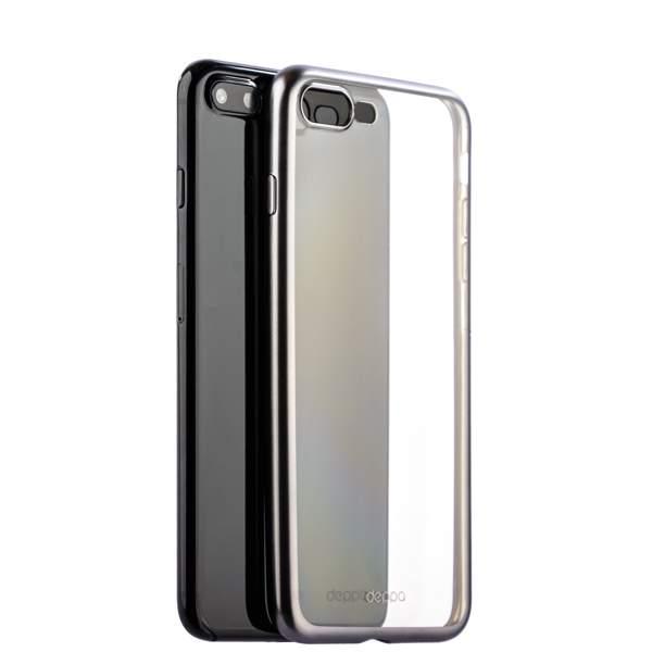 Чехол-накладка силикон Deppa Gel Plus Case D-85288 для iPhone 8 Plus (5.5) 0.9 мм Графитовый матовый борт
