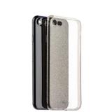 Чехол-накладка силикон Deppa Chic Case с блестками D-85298 для iPhone 8 (4.7) 0.8 мм Черный