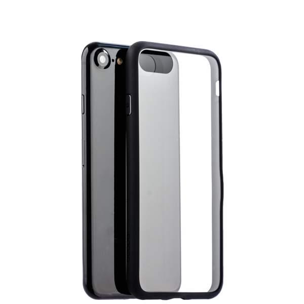 Чехол-накладка силикон Deppa Neo Case супертонкий D-85279 для iPhone 8 (4.7) 0.3 мм Черный борт