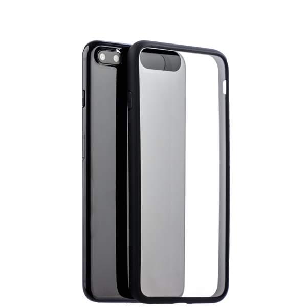 Чехол-накладка силикон Deppa Neo Case супертонкий D-85280 для iPhone 8 Plus (5.5) 0.3 мм Черный борт