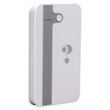 Внешний аккумулятор Wisdom YC - YDA3 Portable Power Bank 5000 mAh ceramic white (USB выход: 5V 2.1A), цвет белый