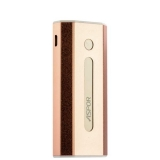 Внешний аккумулятор Aspor A361 Freedom Smart Power bank 5200 mAh (USB: 5V - 1.0A), цвет розовое золото