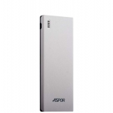Внешний аккумулятор Aspor A352 Power bank 5000 mAh (2 USB : 5V - 2.1A & 1.0A), цвет белый