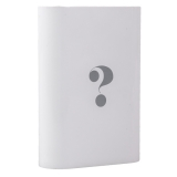 Внешний аккумулятор Wisdom YC - YDA7 Portable Power Bank 7800 mAh ceramic white (USB выход: 5V 2.1A), цвет белый