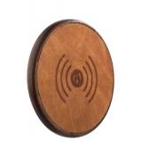 Беспроводное зарядное устройство iCarer Genuine Leather Fast Wireless charging (5 - 9V - 1A), цвет коричневый