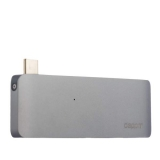 Картридер Type-C 5в1 для MacBook Deppa D - 72219, цвет графитовый