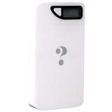 Внешний аккумулятор Wisdom YC - YDA10 Portable Power Bank 13000 mAh ceramic white (USB выход: 5V 1A & 5V 2A), цвет белый