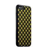 Силиконовый чехол накладка для iPhone 7 Plus COTEetCI Gorgeous Silicone Case CS7036 - BY, цвет черно - желтый