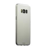 Чехол - накладка пластик Soft touch Deppa Air Case D - 83307 для Samsung GALAXY S8+ SM - G955F 1мм Серебристый
