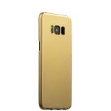 Чехол - накладка пластик Soft touch Deppa Air Case D - 83308 для Samsung GALAXY S8+ SM - G955F 1мм Золотистый