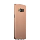 Чехол - накладка пластик Soft touch Deppa Air Case D - 83309 для Samsung GALAXY S8+ SM - G955F 1мм Розовое золото