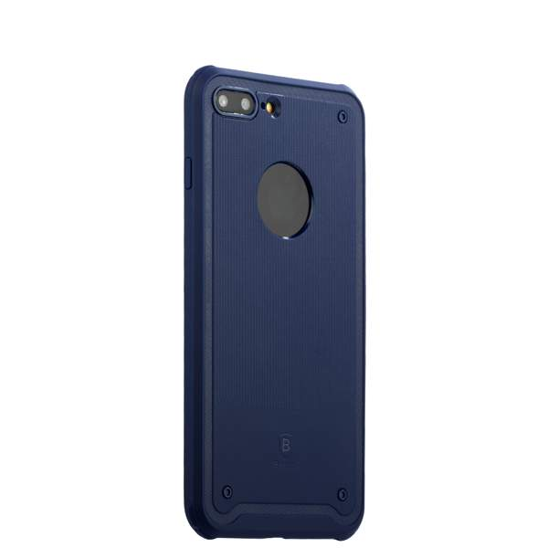 Накладка Baseus ARAPIPH7P-TS15 силиконовая Shield Case для iPhone 8 Plus (5.5) Синяя